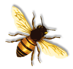 french bee clipart 66949.