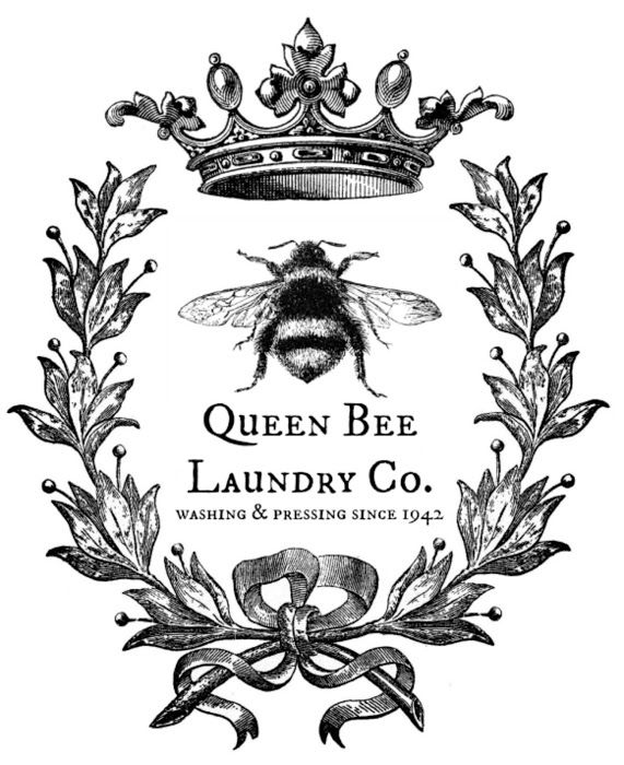 Free Queen Bee Clipart.