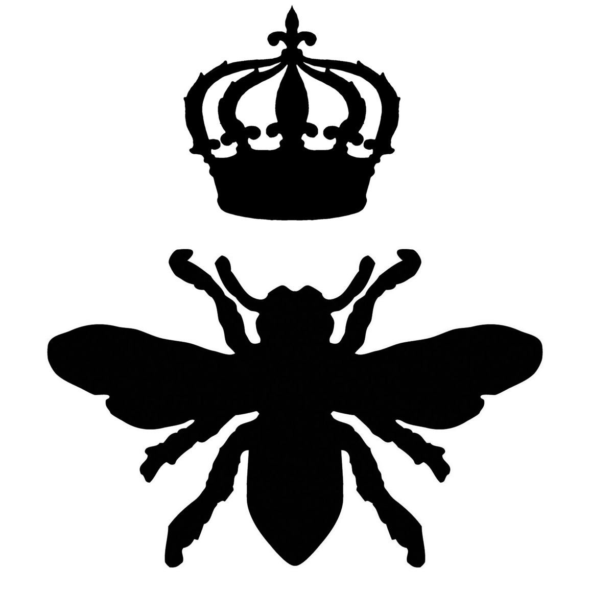 Free Bee Silhouette, Download Free Clip Art, Free Clip Art.