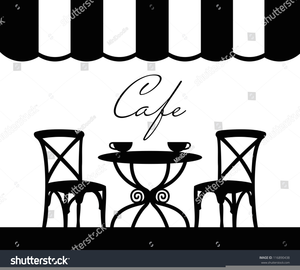 French Bistro Clipart.