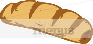 French Bread Clip Art.