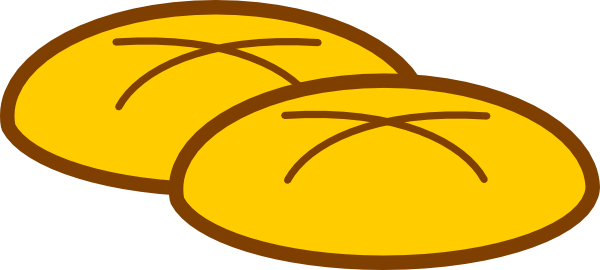 French Bread Clipart.
