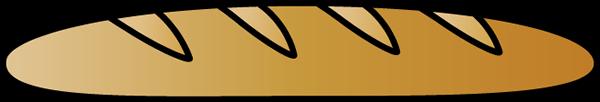 French Bread Clip Art.