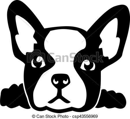 381 French Bulldog free clipart.