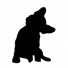 Image result for french bulldog silhouette.