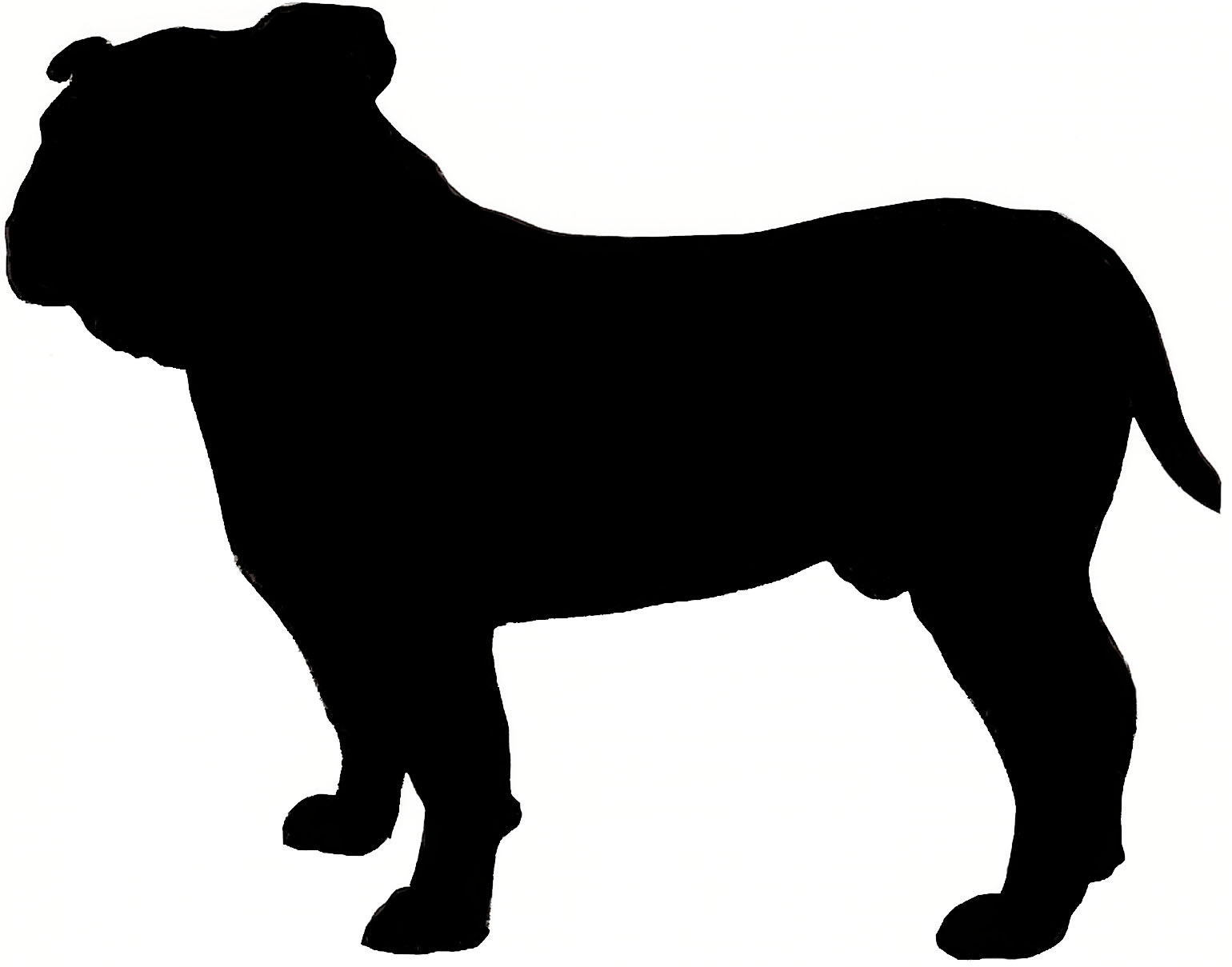 Free French Bulldog Silhouette, Download Free Clip Art, Free.
