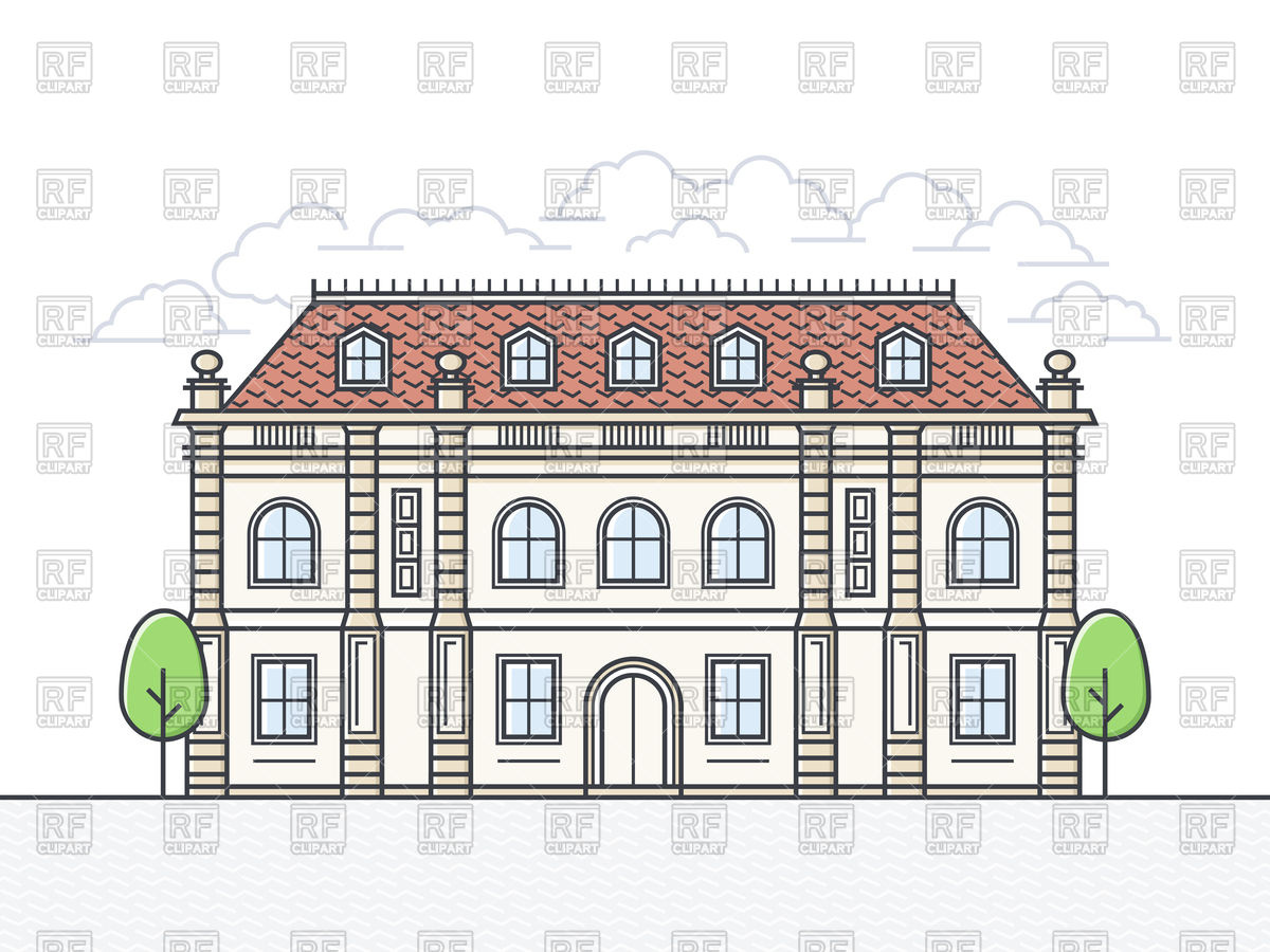 French chateau icon Vector Image #144548.