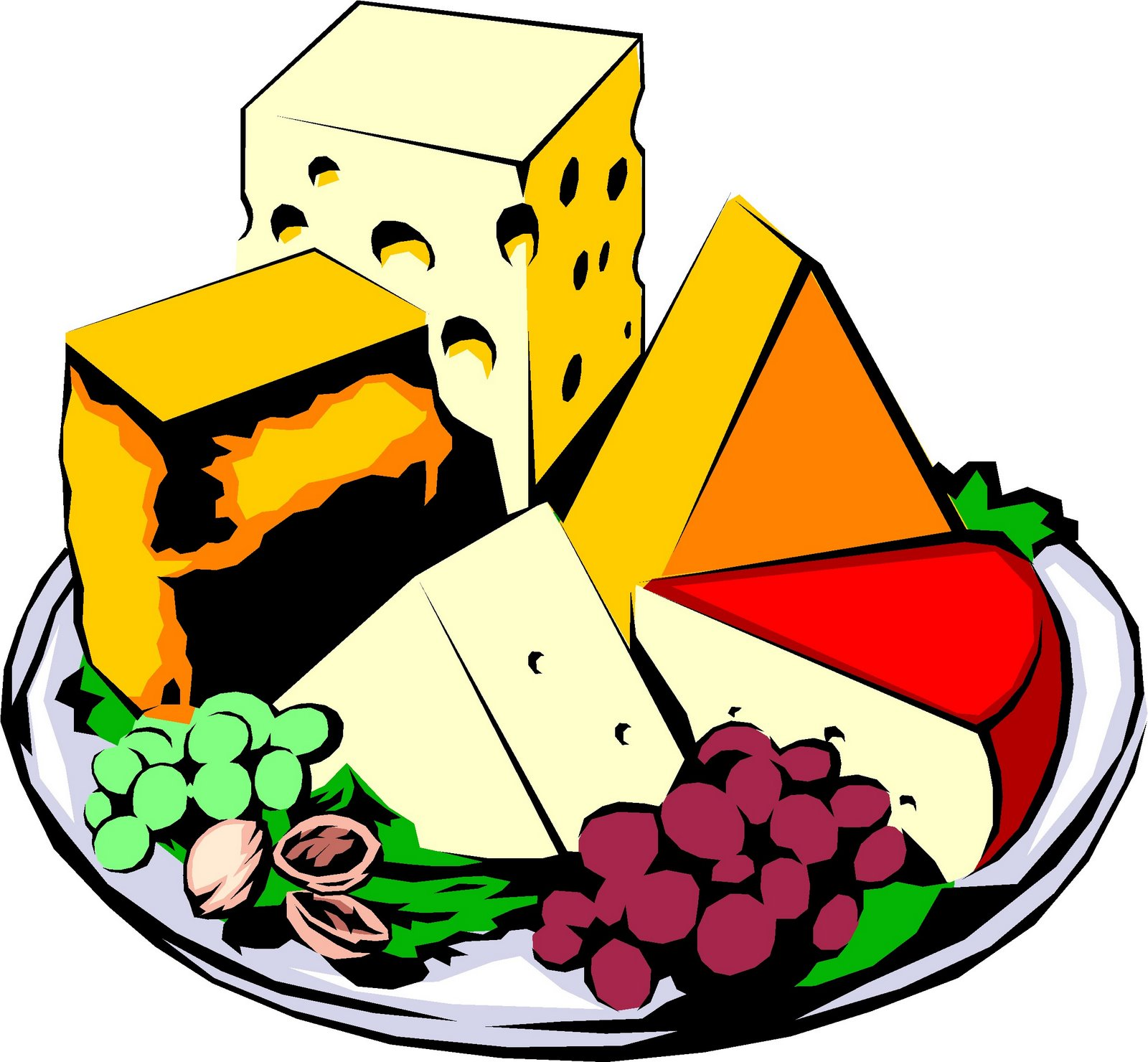 French food clipart.