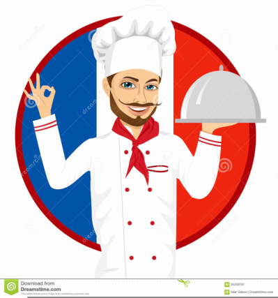 Free French Chef Clipart PNG.