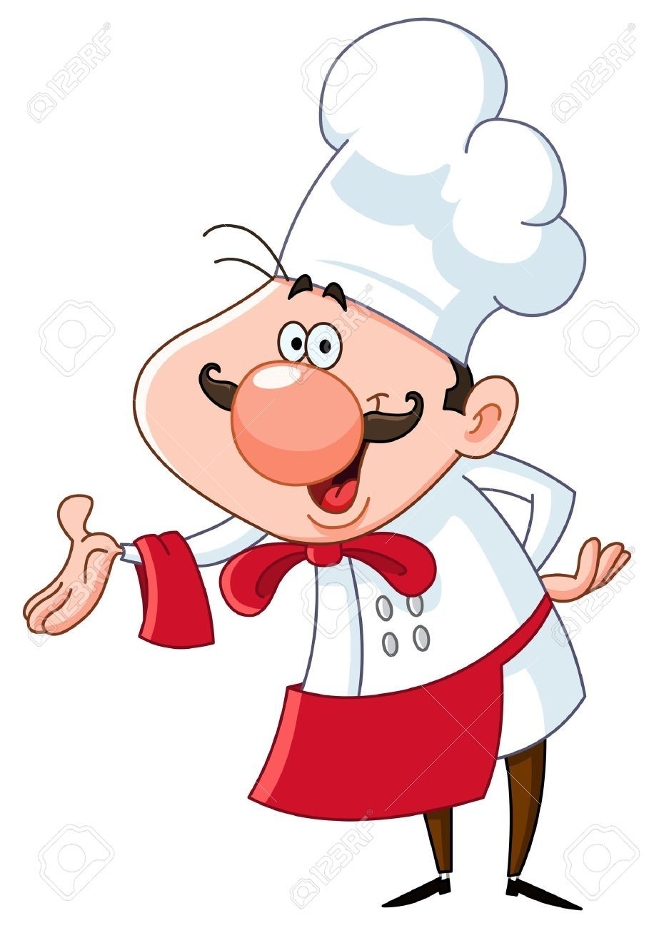 French chef clipart 4 » Clipart Portal.