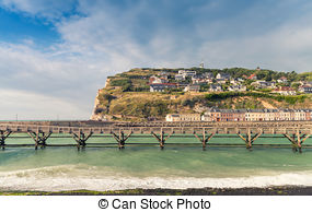Pictures of Beach of Fecamp, France.