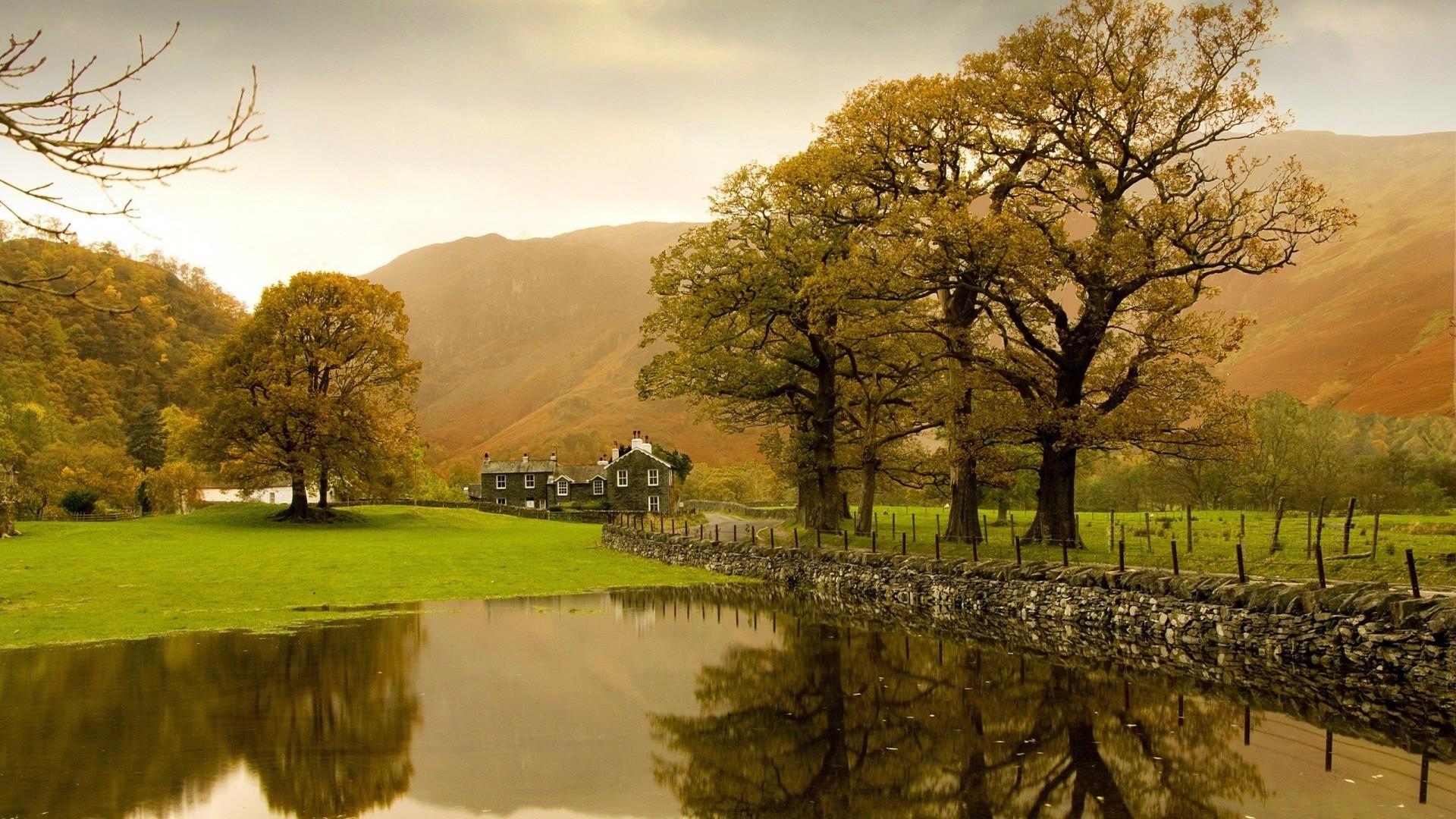 English countryside desktop clipart.