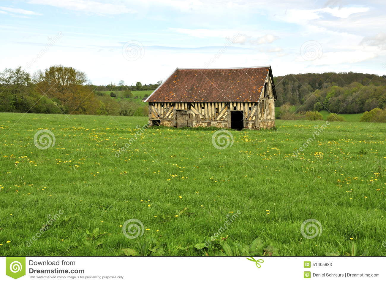 Old Barn French Countryside Stock Photos, Images, & Pictures.