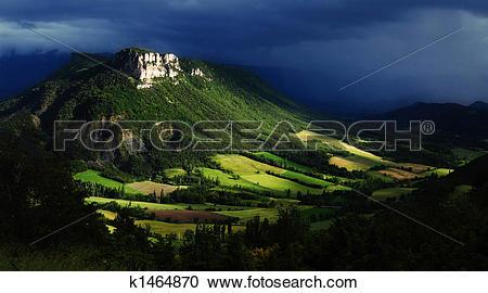 Stock Photography of Wonderful hills.