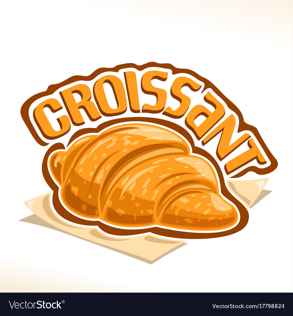 Logo for french croissant.