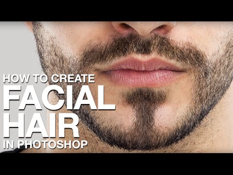 How to Create Facial Hair in Photoshop.
