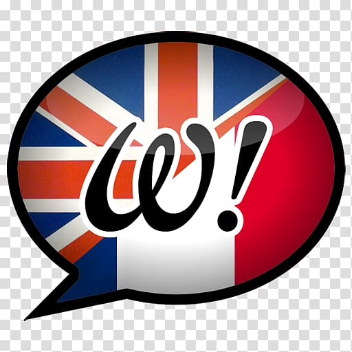 Dictionary Translation English Language French language Logo.