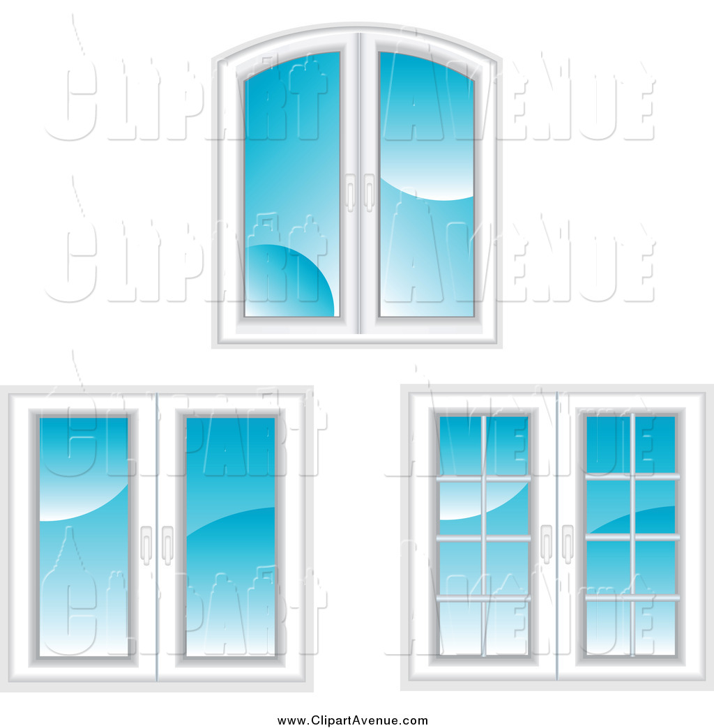 Royalty Free Stock Avenue Designs of French Doors.
