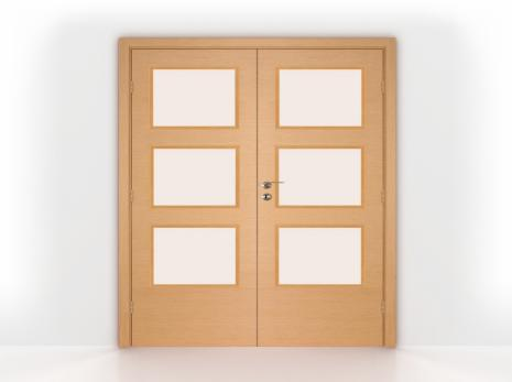 French doors clipart clipground for Double open french doors