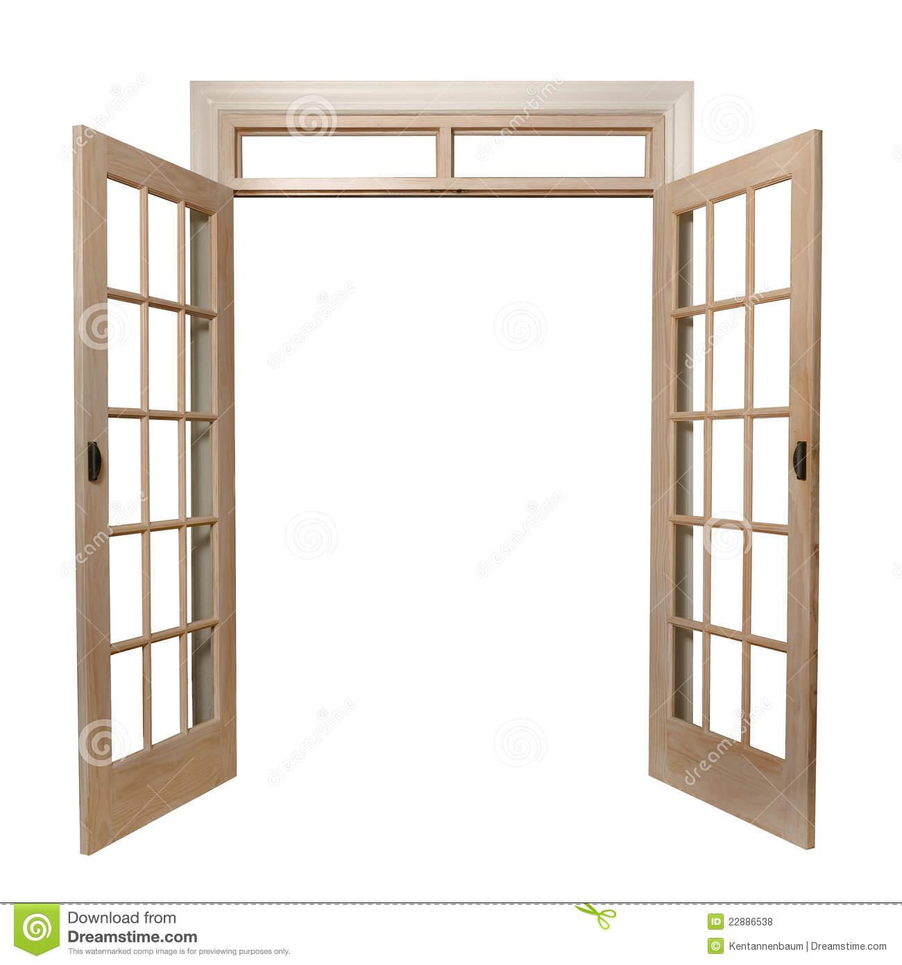 French Doors Royalty Free Stock Photos.