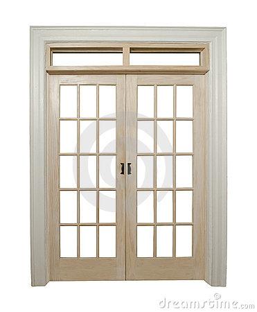 French Doors Royalty Free Stock Photo.