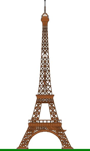 La Tour Eiffel (eiffel Tower) Clip Art at Clker.com.