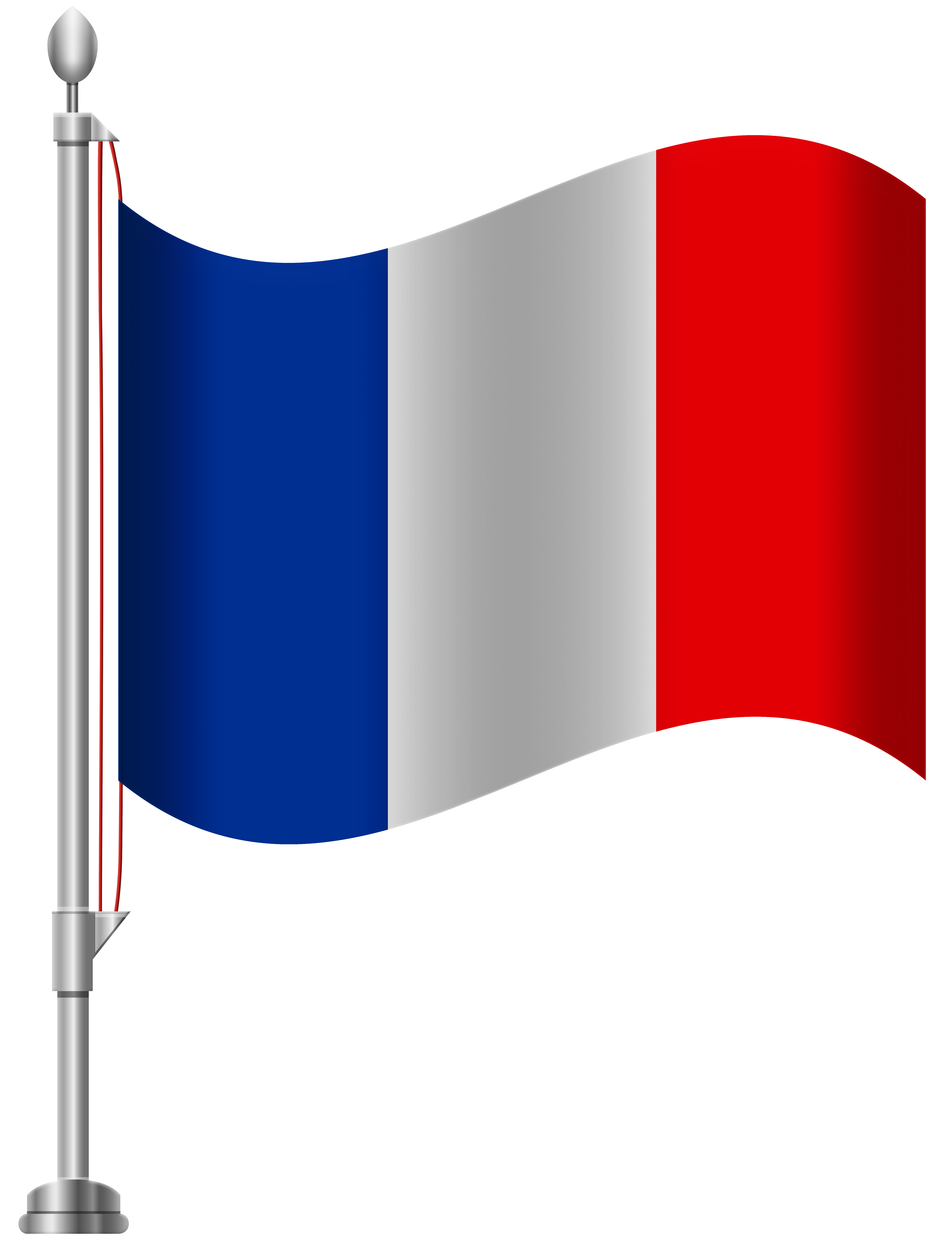Clipart french flag.