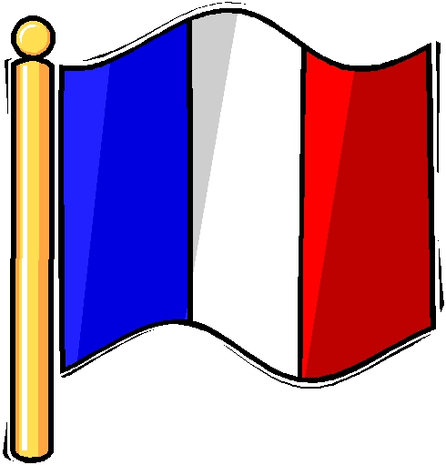 French Flag Clipart#2135554.