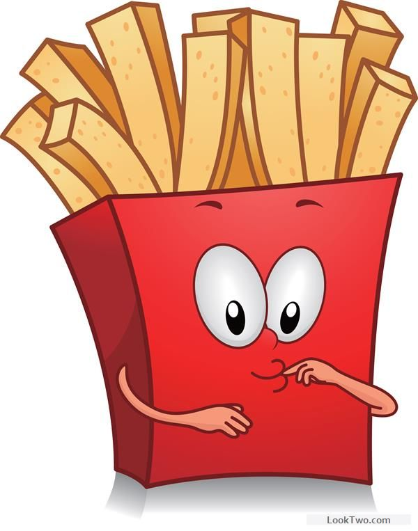 Funny french fries cartoon vector 02 free vector download in.