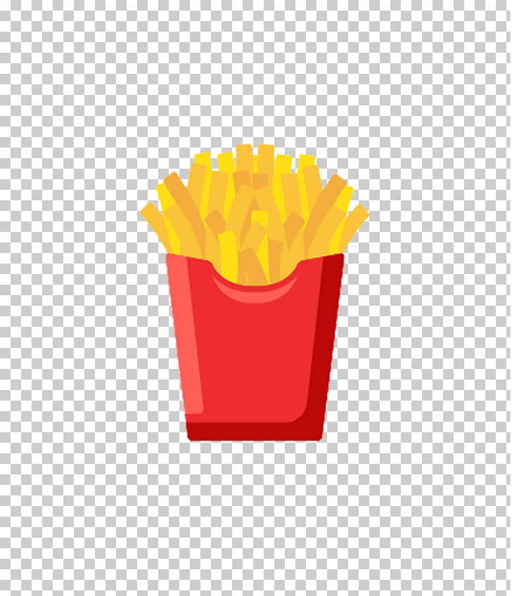 French fries Fast food Cartoon, Free Cartoon fries pull.