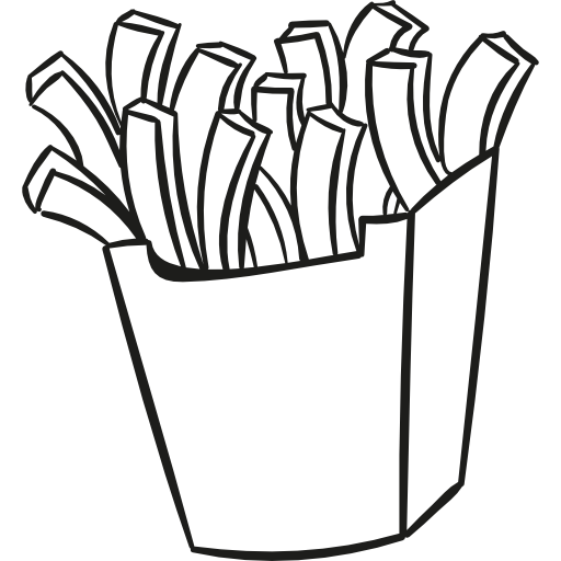 Fries Drawing.