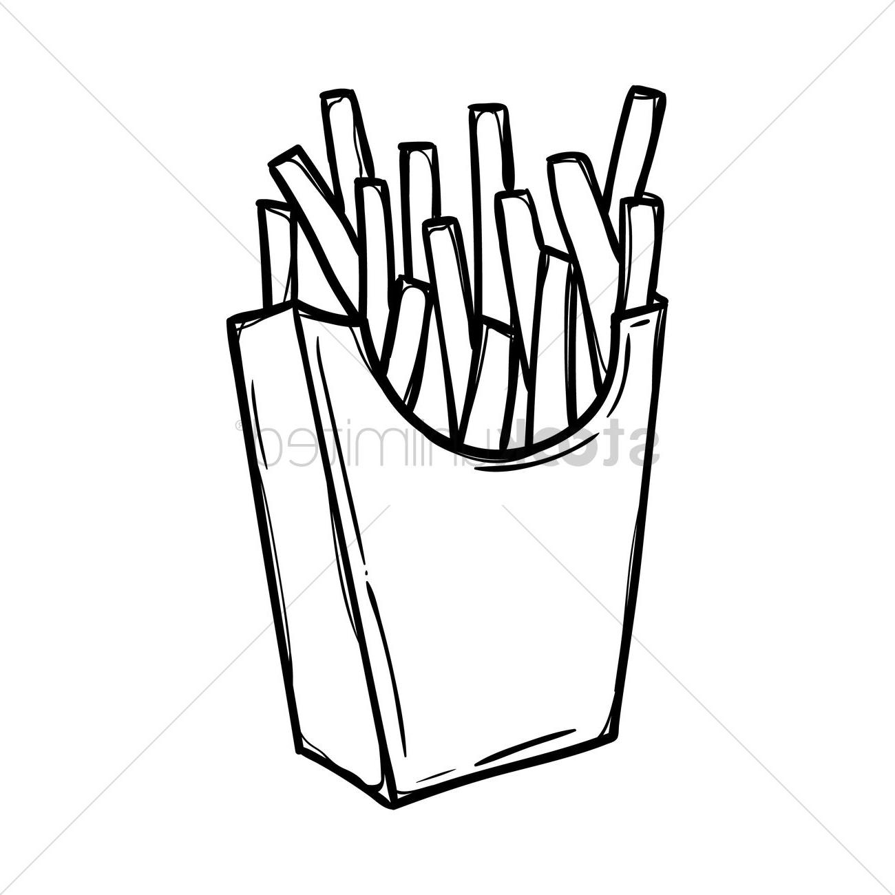 Coloring Ideas : Top French Pictures Fries Coloring Pages Ideas.