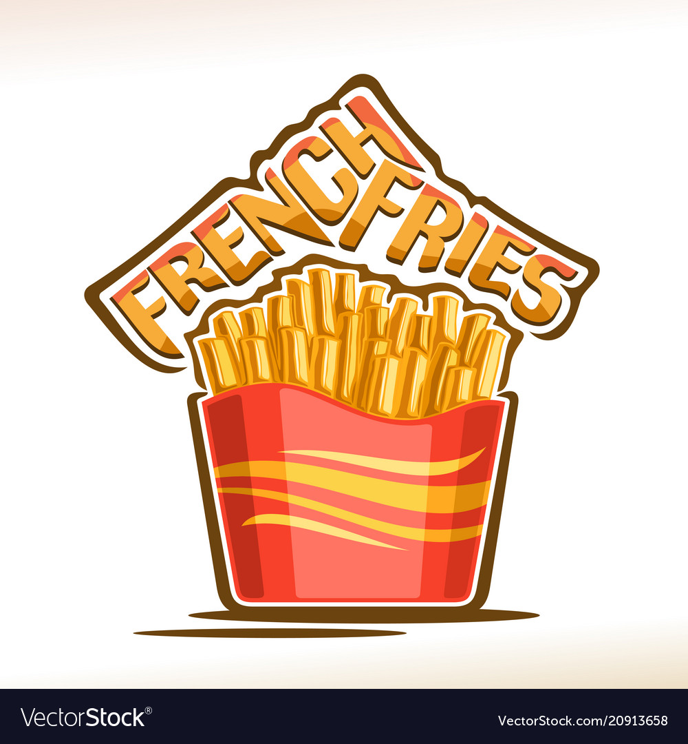 Logo for french fries.