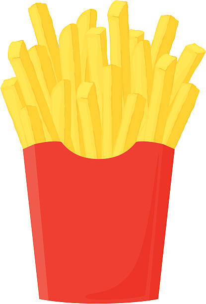 1442 Fries free clipart.