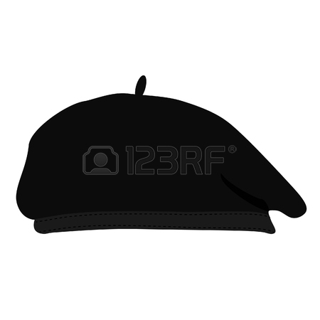 French beret clipart 6 » Clipart Station.