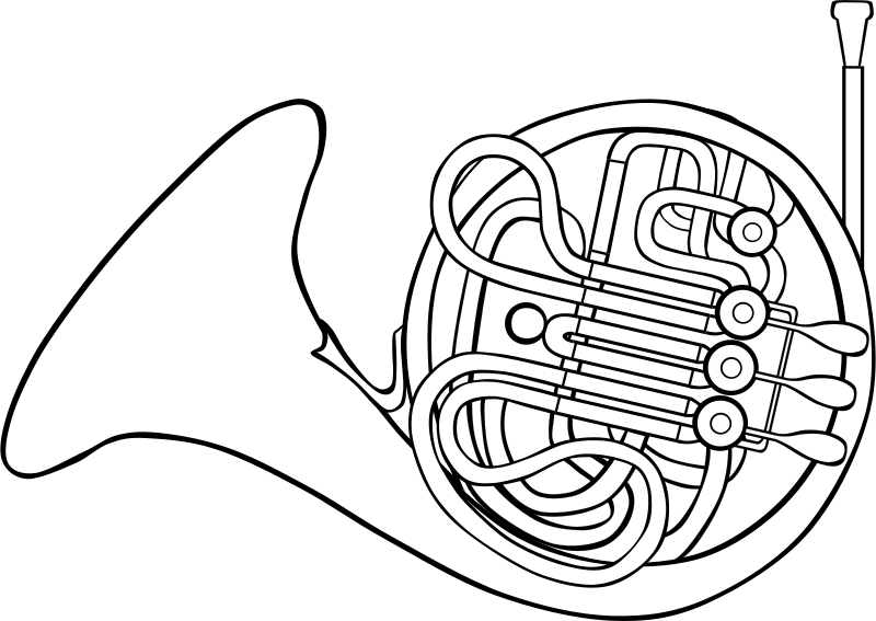 Free Clipart: French Horn.