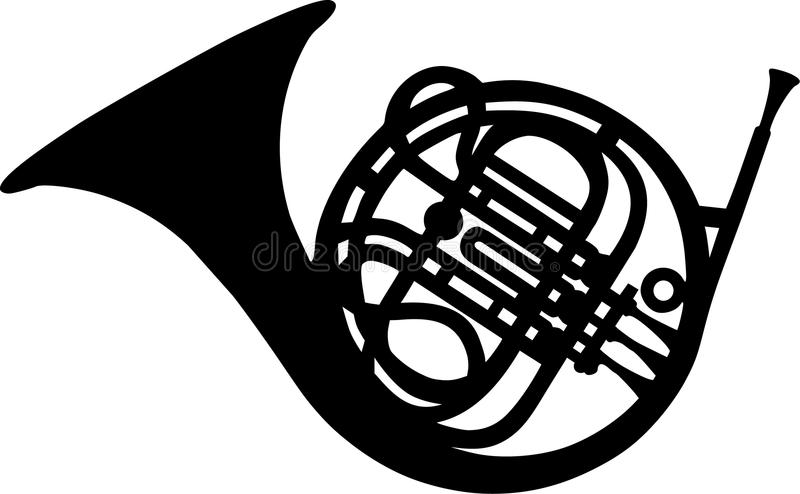 French Horn Stock Illustrations.