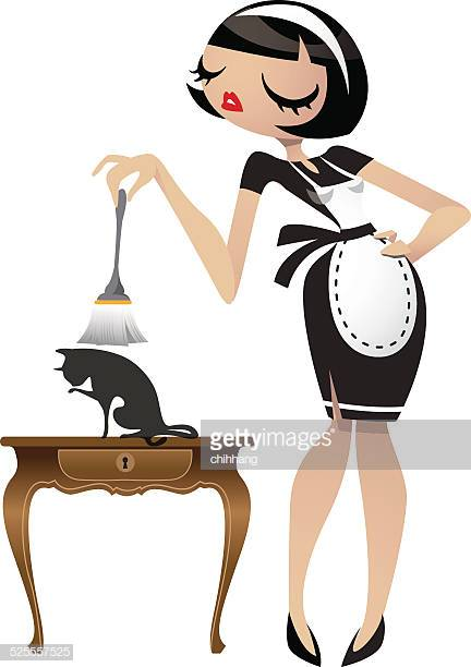 34 French Maid Outfit Stock Illustrations, Clip art, Cartoons.