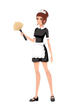 255 French Maid Stock Vector Illustration And Royalty Free French.