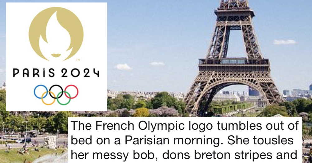 This thread about the Paris Olympics logo went viral because.
