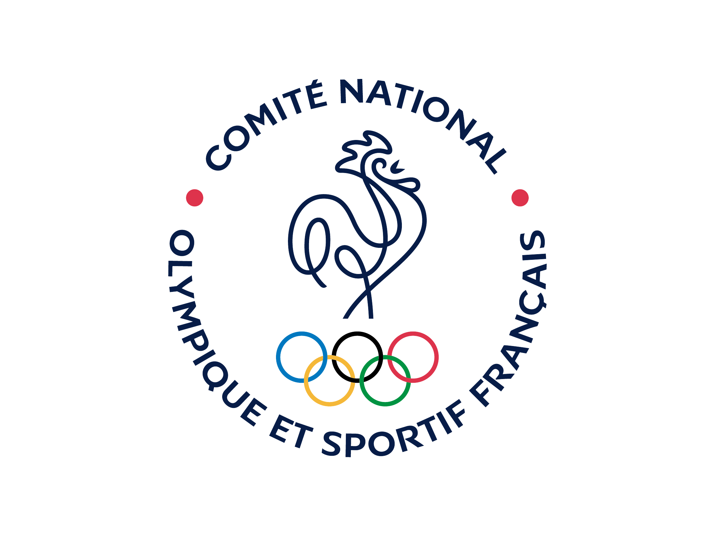 CNOSF French Olympic Committee logo 2015.
