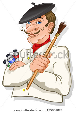 French Man Stock Images, Royalty.