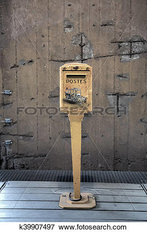 Picture of french post box k39907497.