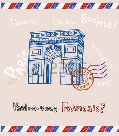 1,719 French Letter Stock Vector Illustration And Royalty Free.