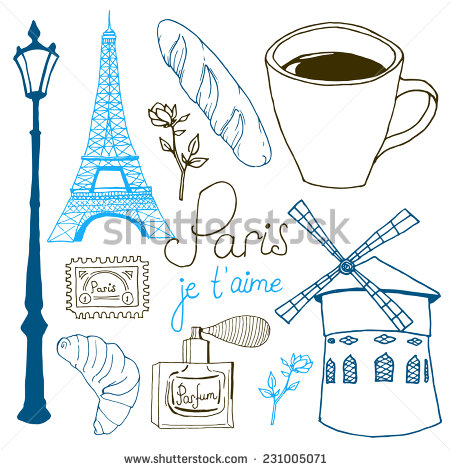 French Postage Stamp Stock Photos, Royalty.