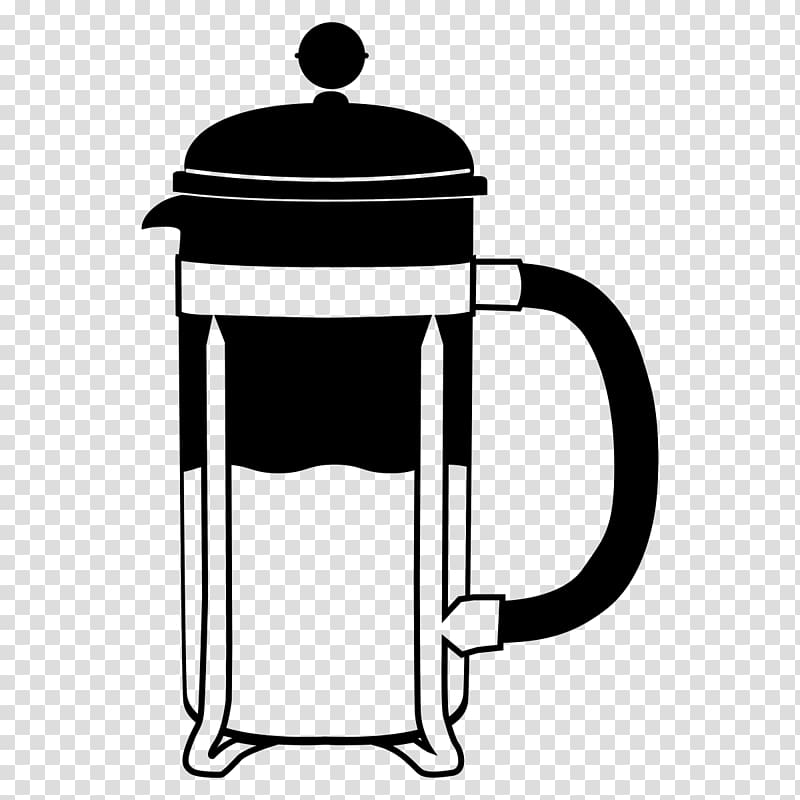 Coffee French Presses Espresso Caffè mocha Mug, French Press.