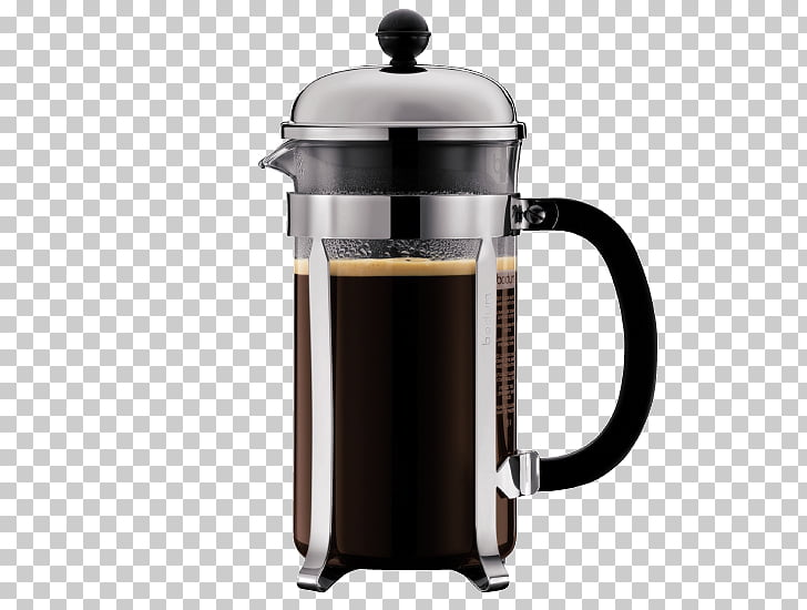 Coffeemaker French Presses Bodum Brewed coffee, Coffee PNG.