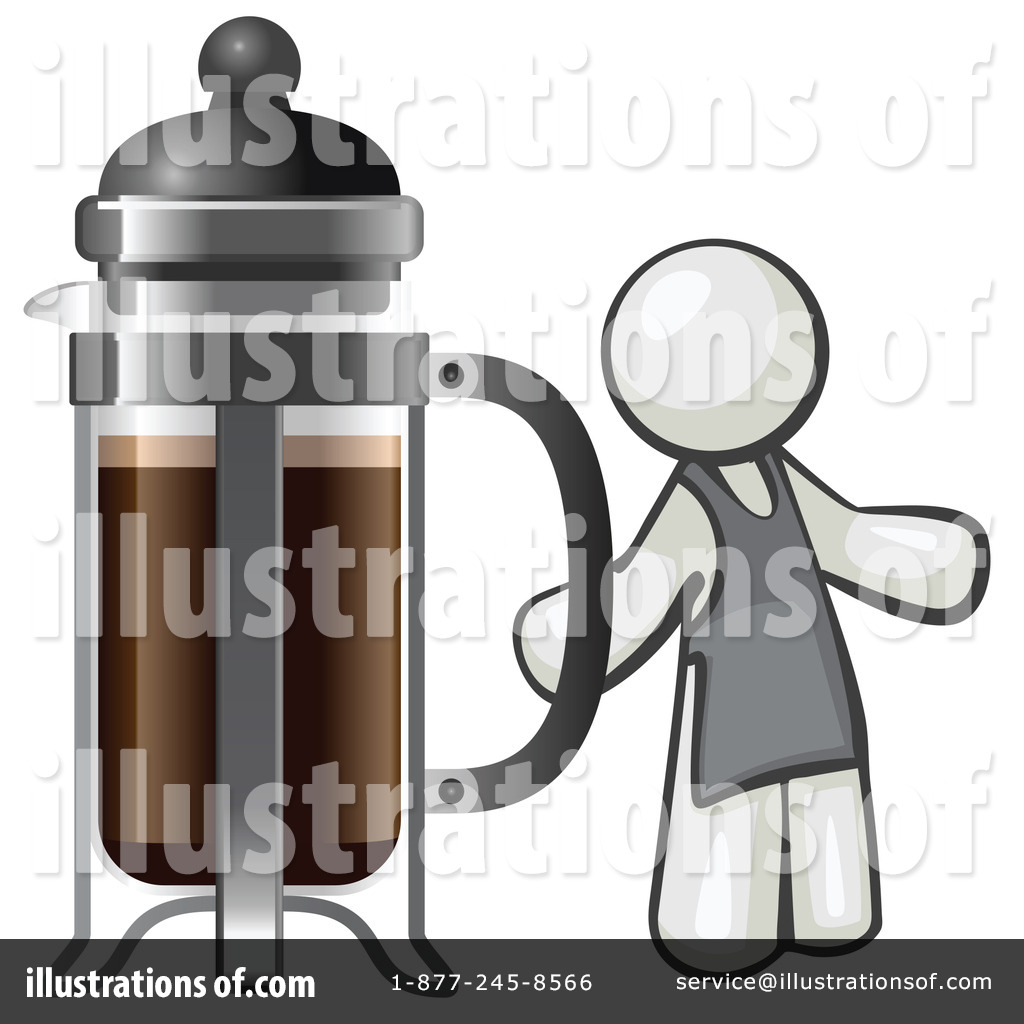 French Press Clipart #1120384.