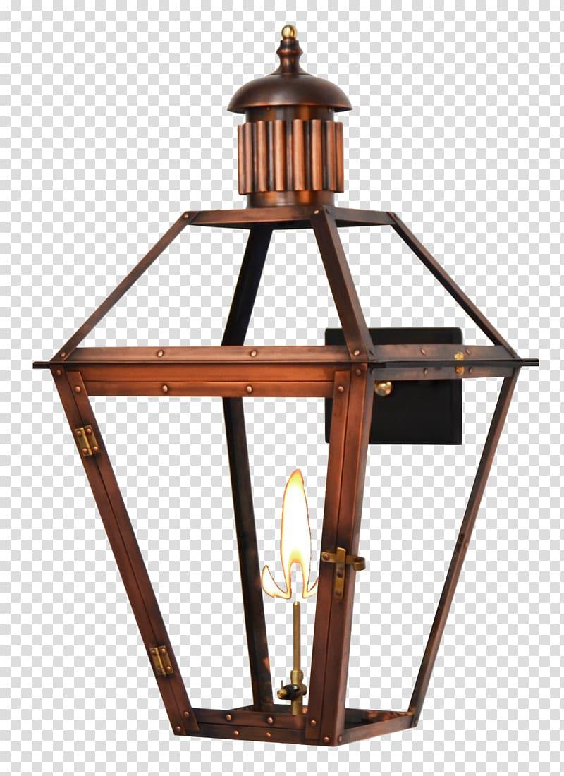 French Quarter Gas lighting Lantern Sconce, light.