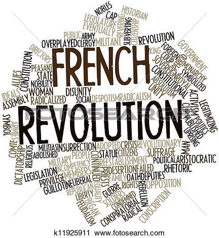 Clipart of French Revolution k11925911.